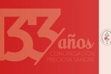133 años Congregación Preciosa Sangre